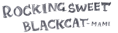 ROCKING SWEET BLACK CAT|手作り焼き菓子専門店/商品詳細ページ